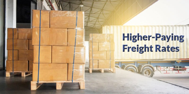 Higher-Paying Freight Rates