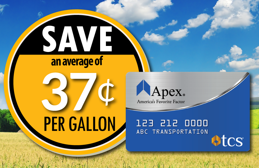 Fuel Discounts with the Apex Fuel Card