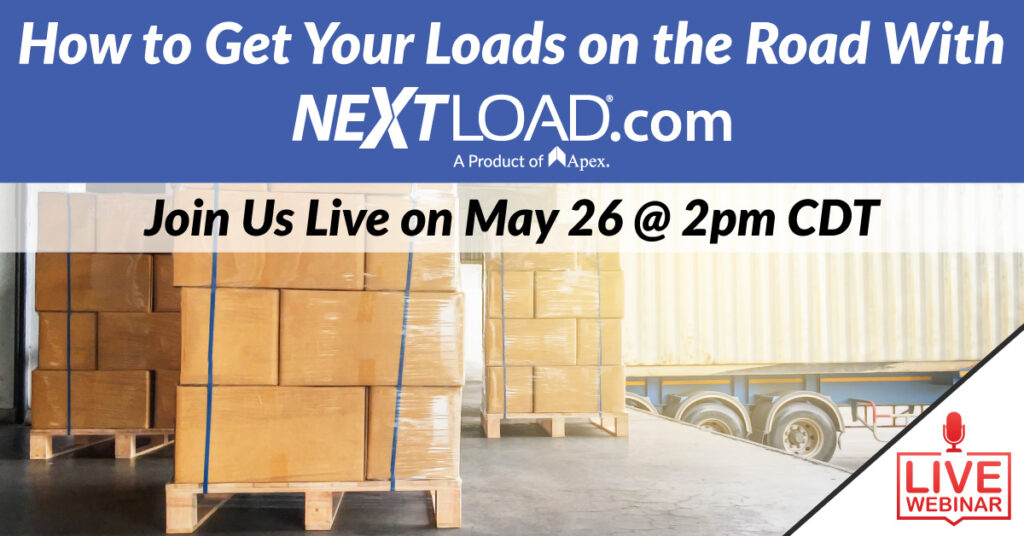 Webinar: Posting loads on NextLoAD